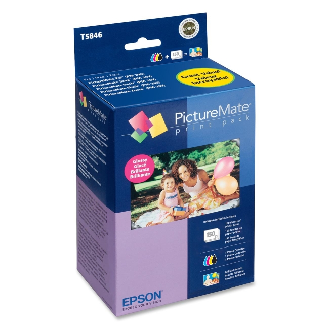 Epson PictureMate Print Pack T5846