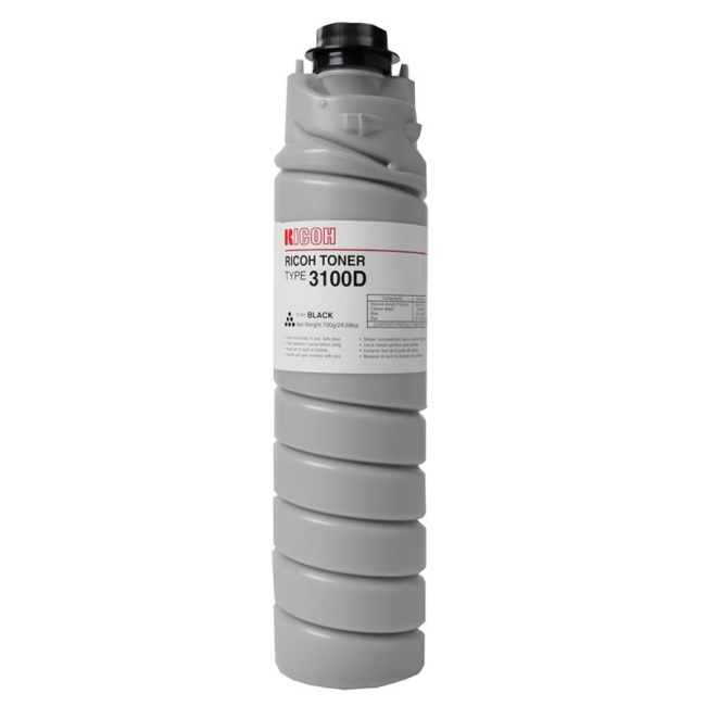 Ricoh Black Toner Bottle 885149 Type 3100D