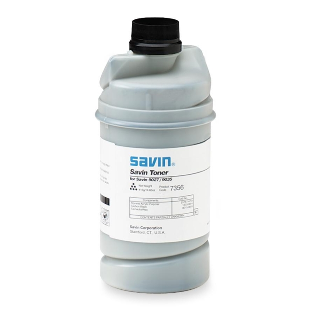 Savin Black Toner Bottle 7356