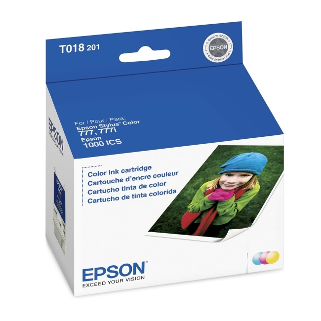 Epson Tri-color Ink Cartridge T018201