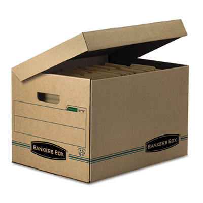 Printer for Letter legal storage boxes with lids