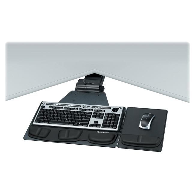 Fellowes Professional Series Corner Executive Keyboard Tray 8035901