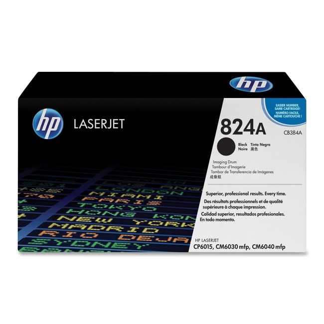 HP 824A Black Original LaserJet Image Drum CB384A