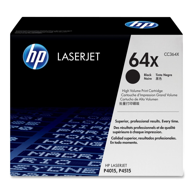 HP (CC3) High Yield Black Original LaserJet Toner Cartridge CC364X 64X