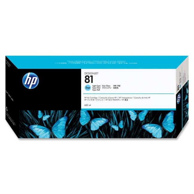HP Cyan Ink Cartridge C4934A 81