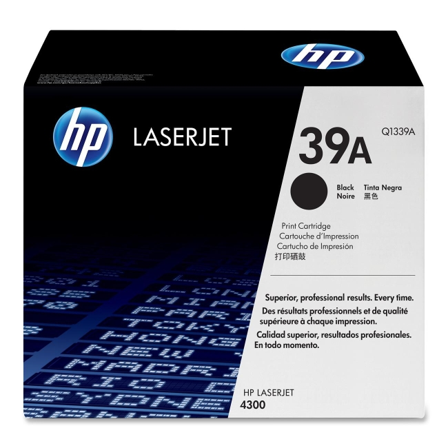 HP (Q13) Black Original LaserJet Toner Cartridge Q1339A 39A