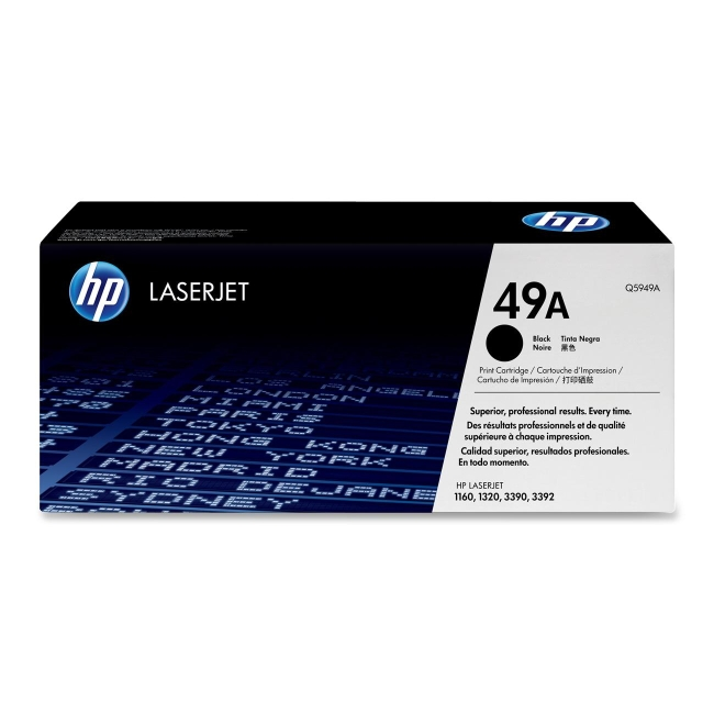 HP (Q59) Black Original LaserJet Toner Cartridge Q5949A 49A
