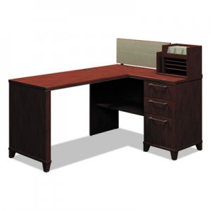 Bush Enterprise Collection 60W x 47D Corner Desk, Harvest Cherry (Box 2 of 2) BSH2999CSA203 2999CSA2-03