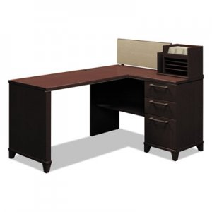 Bush Enterprise Collection 60W x 47D Corner Desk, Mocha Cherry (Box 1 of 2) BSH2999MCA103 2999MCA1-03