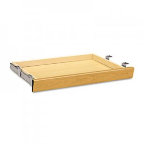 HON Laminate Angled Center Drawer, 26w x 15 3/8d x 2 1/2h, Harvest HON1526C H1526.C