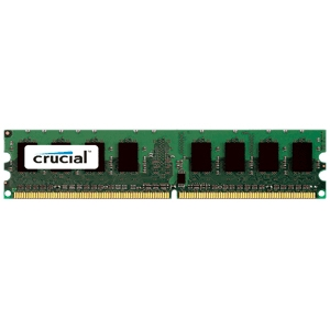 Crucial 1GB, 240-pin DIMM, DDR2 PC2-6400 memory module CT12872AA80E