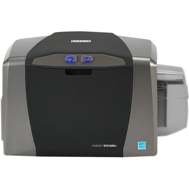 Fargo ID Card Printer / Encoder Dual Sided 050120 DTC1250e