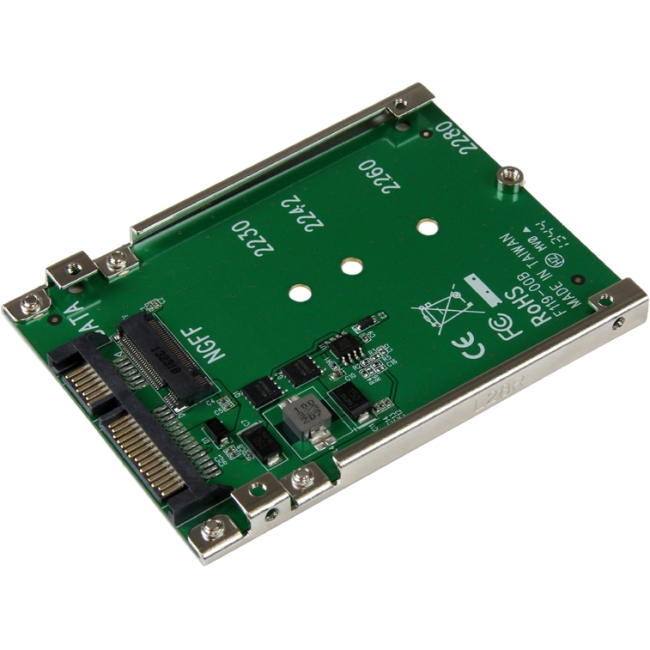 StarTech.com M.2 NGFF SSD To 2.5in SATA Adapter Converter SAT32M225