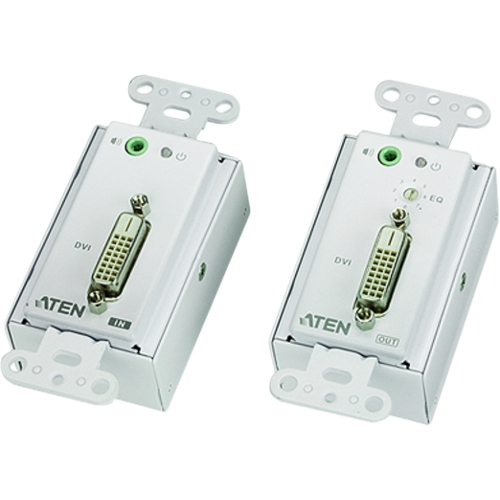 Aten DVI Over Cat 5 Extender Wall Plate VE606