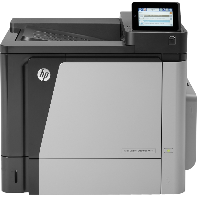 HP Color LaserJet Enterprise Printer CZ256A#BGJ M651DN