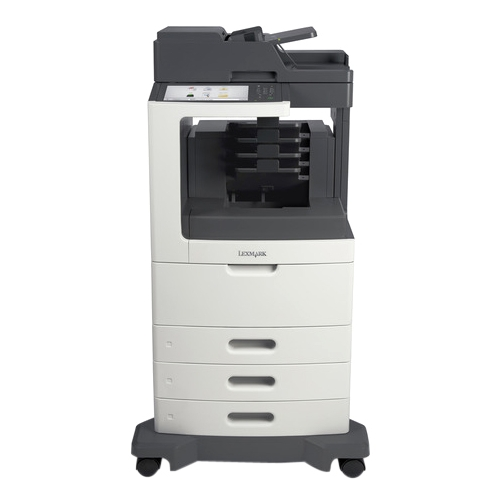 Lexmark Multifunction Laser Printer Government Compliant 24TT237 MX812DTPE