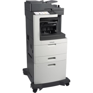 Lexmark Multifunction Laser Printer Government Compliant 24TT241 MX812DXPE
