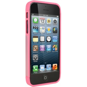 Cygnett Alternate Pink/White Two-tone Dockable Case iPhone 5 + 5S CY1227CPALT