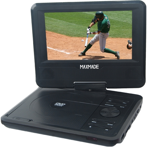Portable dvd player maxmade mdp701 mdp 701 portable dvd player maxmade