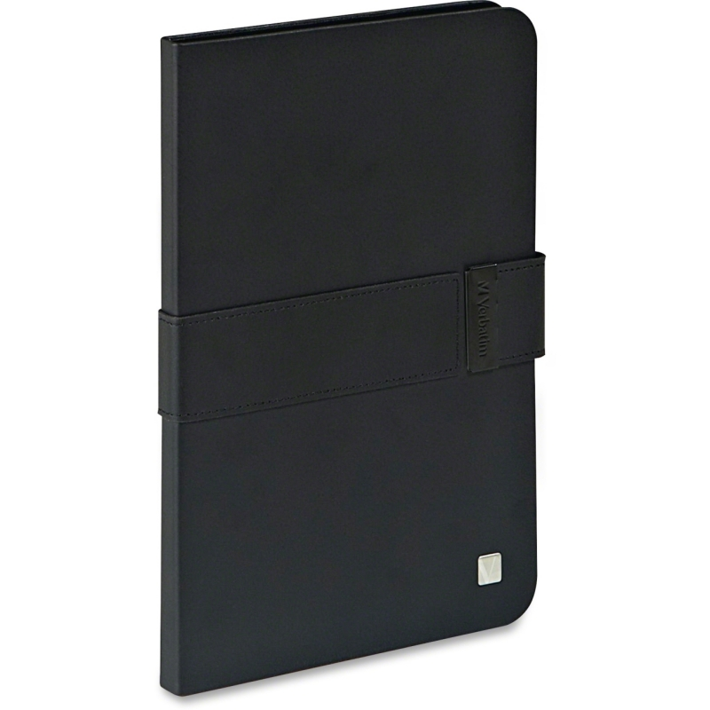 Verbatim Folio Signature for iPad mini and iPad mini with Retina display - Black/Black 98416