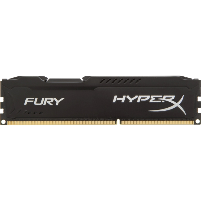 Kingston HyperX Fury Memory Black - 4GB Module - DDR3 1866MHz HX318C10FB/4