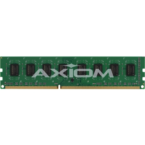 Axiom 4GB Low Voltage ECC Module TAA Compliant PC3L-12800 Unbuffered ECC 1600MHz 1.35v AXG56093779/1