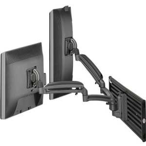 Chief KONTOUR K1S Dynamic Slat-Wall Mount, 2 Monitors K1S220B