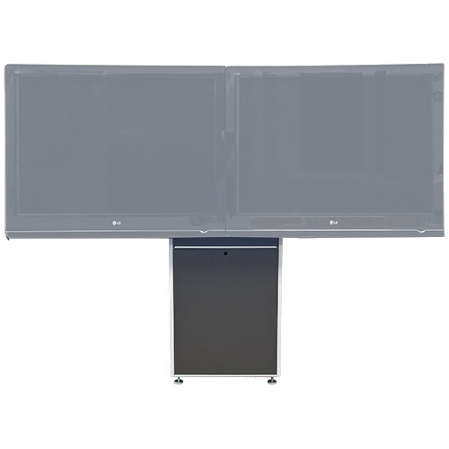 VFI Dual Monitor Wall Mounted Electric Lift Stand LFT7000D-WM