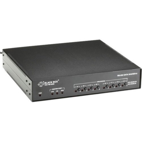 Black Box RS-232 Data Sharer, 8-Port TL554A-R3