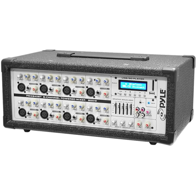 PylePro Audio Mixer PMX840BT