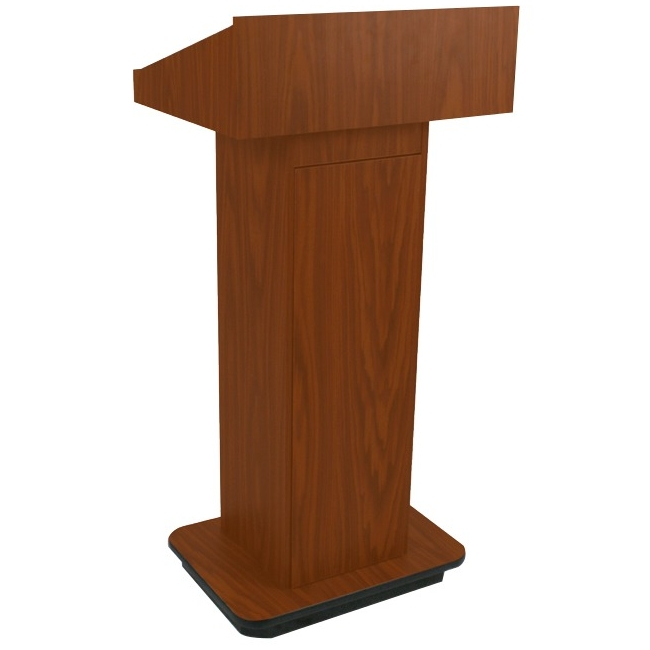 AmpliVox Executive Non-sound Column Lectern W505-MH W505