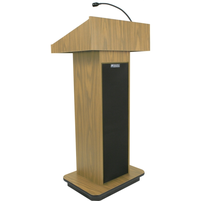 AmpliVox Executive Sound Column Lectern S505-OK S505
