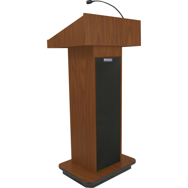 AmpliVox Executive Sound Column Lectern S505-MH S505