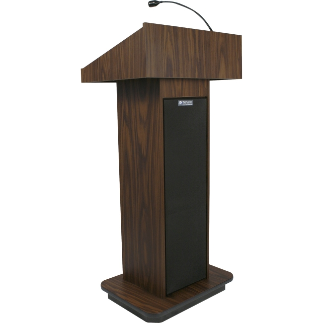 AmpliVox Executive Sound Column Lectern S505-WT S505
