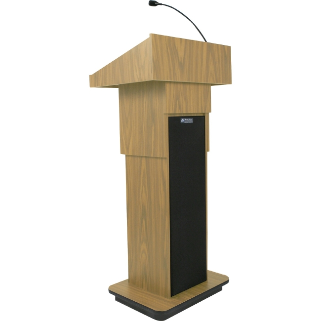 AmpliVox Executive Adjustable Column Sound Lectern S505A-OK S505A