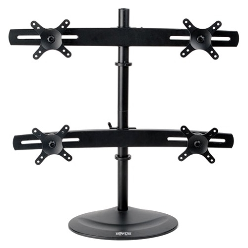 "Tripp Lite Quad Full-Motion Desk Mount for 10"" to 26"" Flat-Screen Displays DDR1026MQ"
