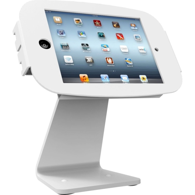 MacLocks iPad Enclosure Kiosk - Rotates 360' and Swivels - WHITE - Fits iPad 1/2/3/4/AIR AIO-W