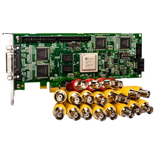 Lenovo Analog, 16 Channel Encoder PCIE Card for LenovoEMC NVR with Milesone Arcus 4N90A34206
