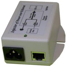Tycon Power 120/240VAC Input, 48VDC 24W 802.3af POE Output TP-POE-48D