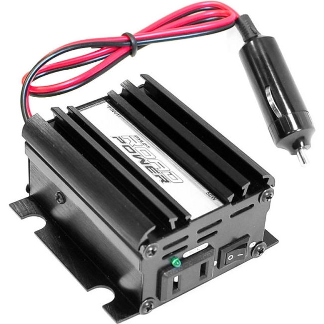 Pyle Plug in Car 50 Watt 12v DC to 115 Volt AC Power Inverter w/ Modified Sine Wave PINV11