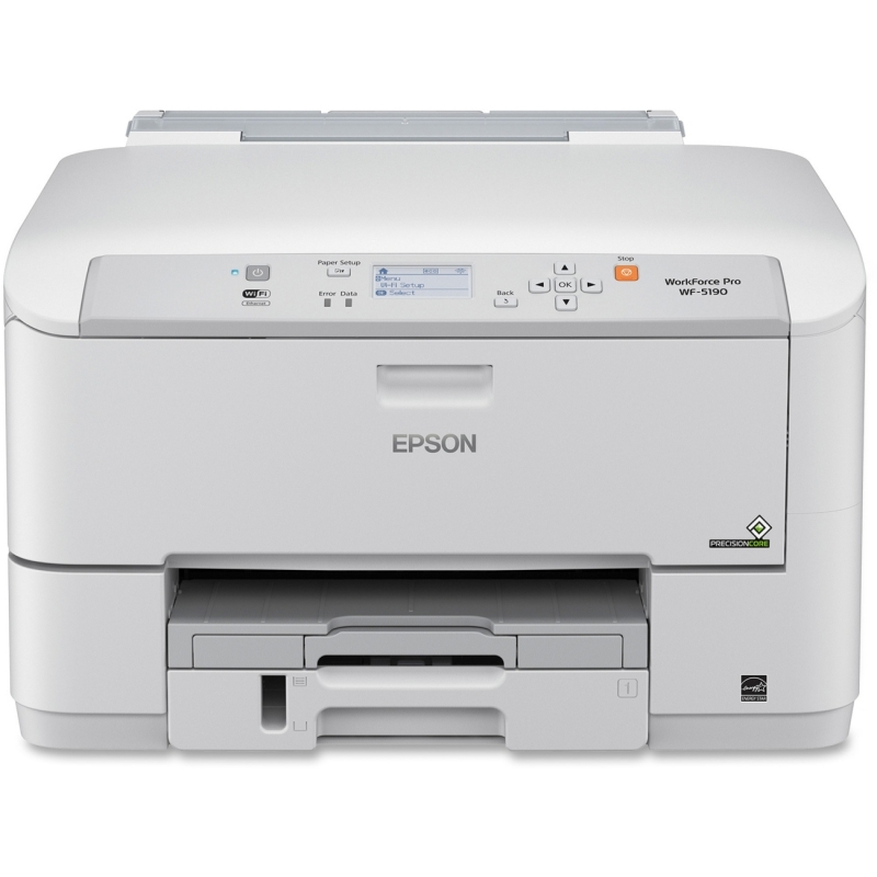 Epson WorkForce Pro Network Color Printer with PCL/Adobe PS C11CD15201 EPSC11CD15201 WF-5190