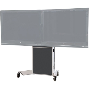 VFI Dual Monitor Mobile Electric Lift Stand LFT7000D