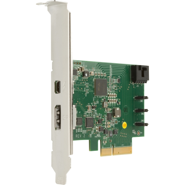 HP 1-port Thunderbolt Adapter with DisplayPort Input F3F43AT