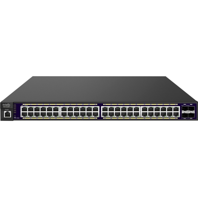 EnGenius 48-Port Gigabit PoE+ L2 Managed Switch with 4 Dual-Speed SFP EGS7252FP