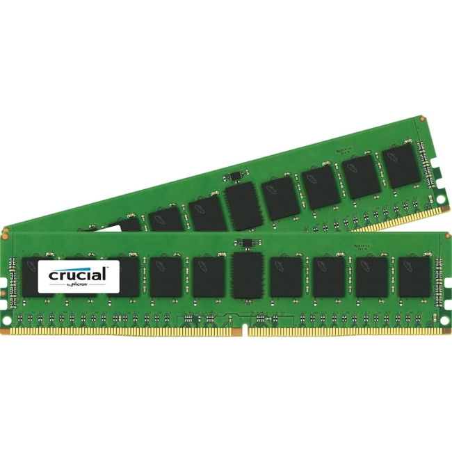 Crucial 16GB Kit (8GBx2) DDR4 PC4-17000 Registered ECC 1.2V CT2K8G4RFS4213