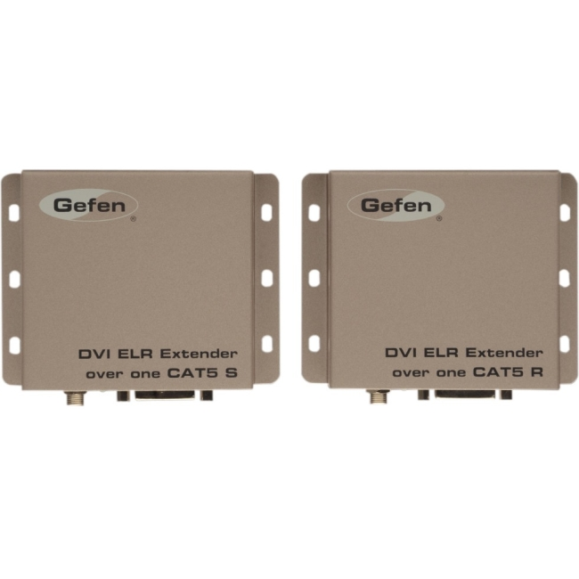 Gefen DVI ELR Extender Over One CAT-5 up to 150 Meters EXT-DVI-1CAT5-ELR