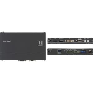 Kramer 4Input MultiFormat Video over HDBaseT Transmitter & StepIN Commander SID-X2N
