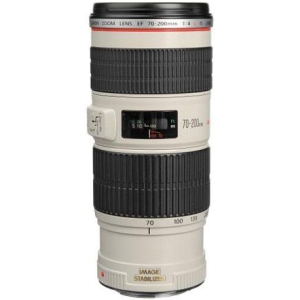 Canon EF 70-200mm f/4L IS USM Telephoto Zoom Lens 1258B002