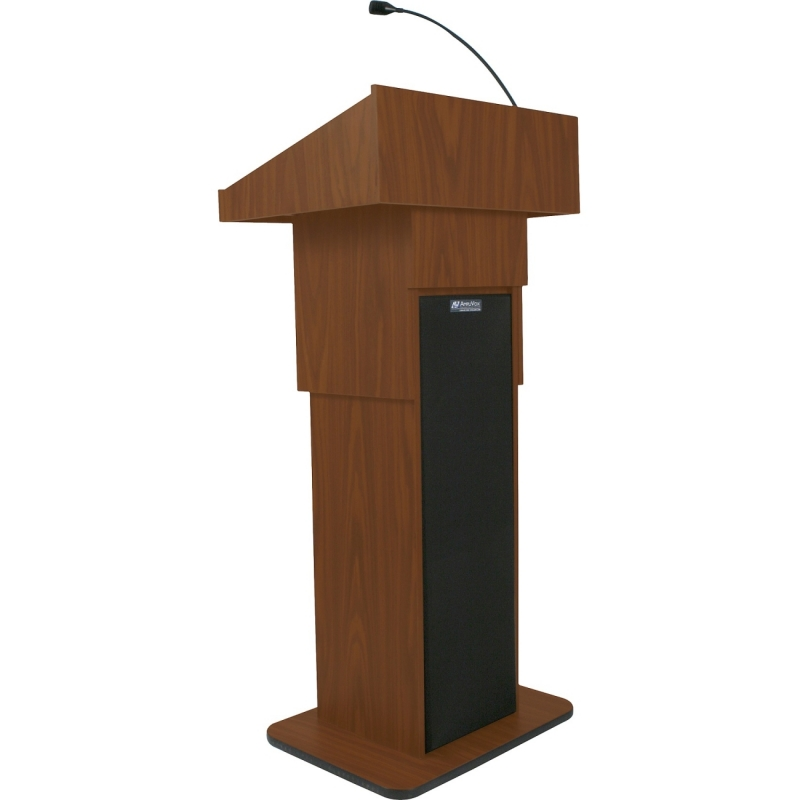 AmpliVox Executive Adjustable Column Sound Lectern S505AMH APLS505AMH S505A