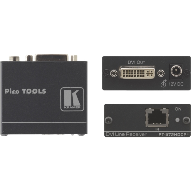 Kramer DVI (HDCP) over Twisted Pair Receiver PT-572HDCP PT-572HDCP+